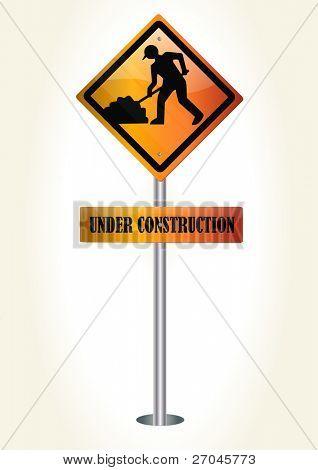 en vector de construcción