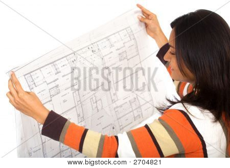 Female Interior Designer