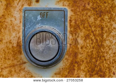 Old light switch ( Off )