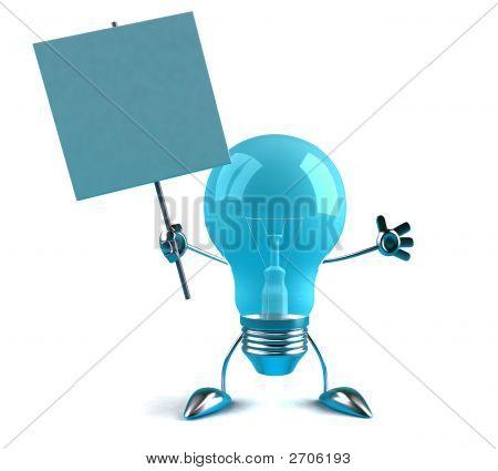 Lightbulb Sign