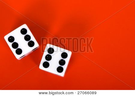 two dices - six six