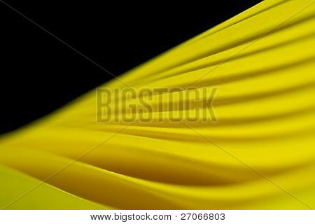 Twisted Yellow Paper Background IV