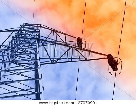 Electric powe-rlines