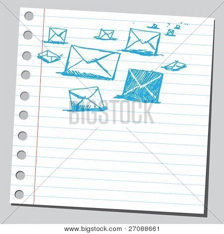 Scribble post letters