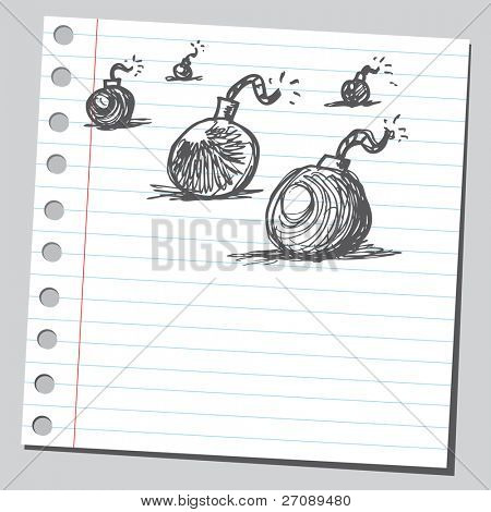 Scribble bombs