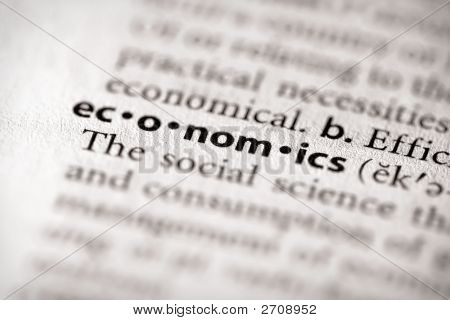 Dictionary Series - Economics: Economics