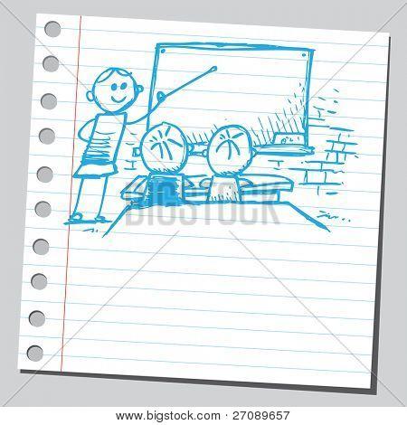 Scribble classroom