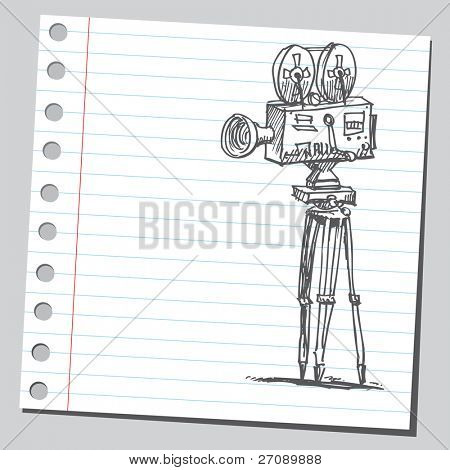 Garabato filmadora