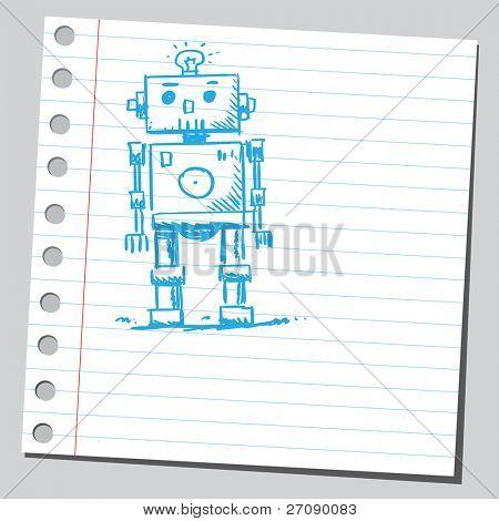 Scribble robot