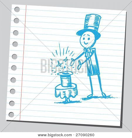 Scribble magician