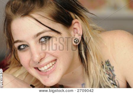 Attractive Female American