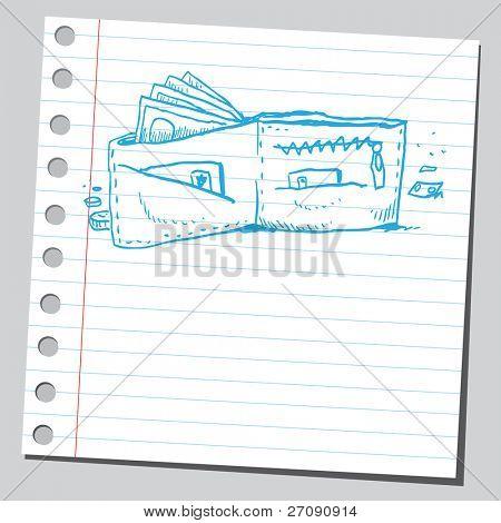 Wallet sketch