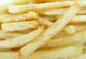pic of pommes de terre frites  - French fries potatoes - JPG