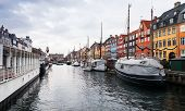 Nyhavn Or New Harbour, It Is A 17th-century Waterfront, Canal And Popular Touristic District In Cent poster