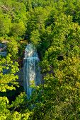 Fall Creek Falls In Eastern Tennessee, The Highest Free-fall Waterfall East Of The Mississippi poster