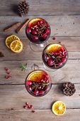Red Cranberry Sangria poster