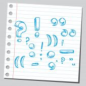 stock photo of symbol punctuation  - Punctuation marks - JPG