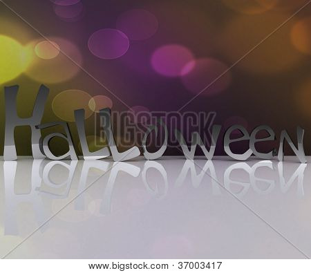 Halloween background - 3D