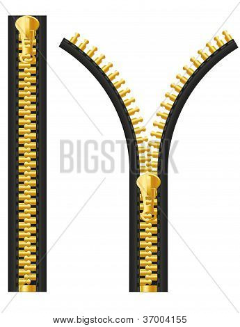 Zipper Vector Illustration