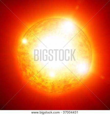 Sun In Outer Space