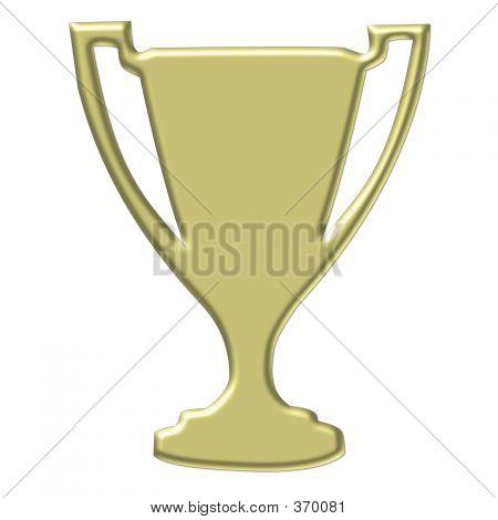 Trofeo de oro - Imágenes Prediseñadas