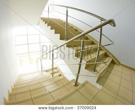 Office Staircase (fisheye Snapshot)