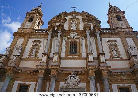 The church of Saint Domenico of Palermo in Sicily