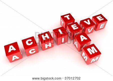 Achieve / Team Crossword