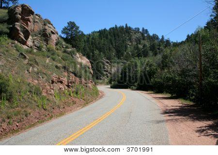 Mountain Road Curve
