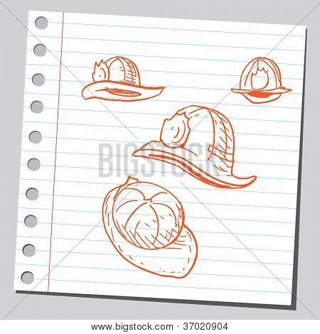 Fireman's hats