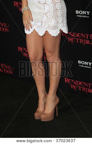 LOS ANGELES - SEP 12: Alexa Vega at the LA premiere of 'Resident Evil: Retribution' at Regal Cinemas L.A. Live on September 12, 2012 in Los Angeles, California