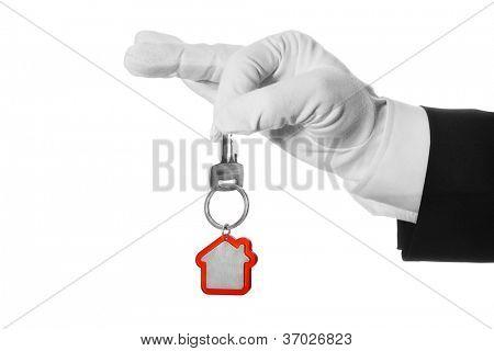 House key in hand butler