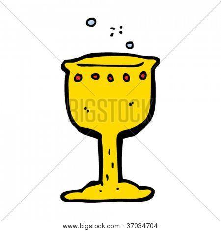 cartoon grail cup