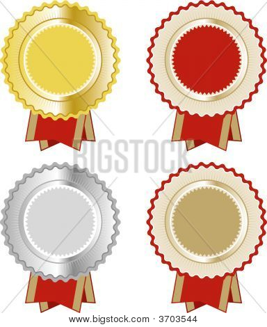Award Seal Rosette set