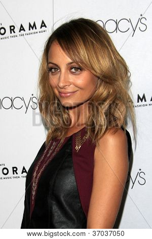 LOS ANGELES - SEP 7:  Nicole Richie arrives at the Macy's Passport 30th Glamorama at Orpheum Theater on September 7, 2012 in Los Angeles, CA