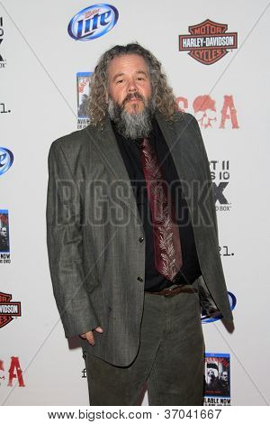 LOS ANGELES - SEP 8:  Mark Boone arrives at the