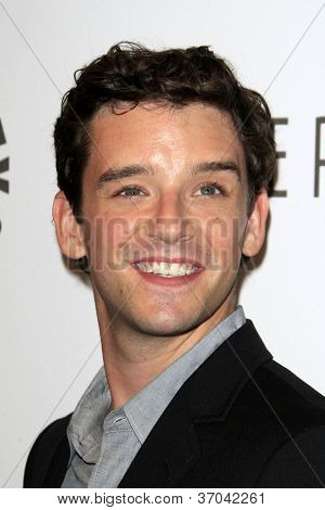 LOS ANGELES - SEP 6:  Michael Urie arrives at the