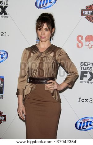 LOS ANGELES - SEP 8:  Maggie Siff arrives at the