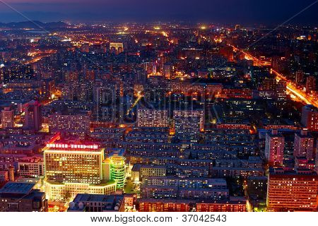 Paisagem urbana de Beijing
