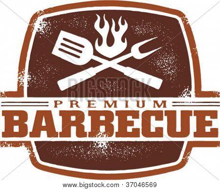 Vintage Premium Barbecue/BBQ Graphic