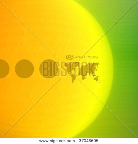 Sunburst abstract background