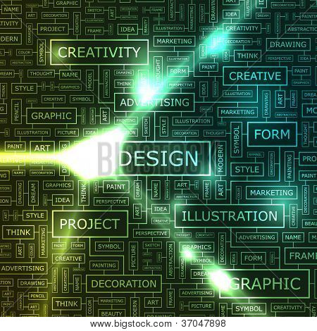 DESIGN. Abstract vector background.