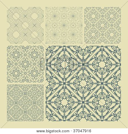 Seamless pattern for design. Vector illustration.