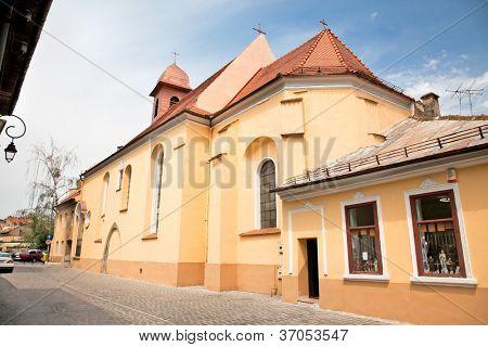 Monasterio franciscano Sf.Ioan de 15. Siglo en Brasov, Rumania