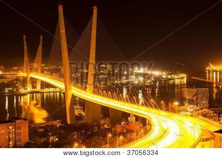 Vladivostok, Russia: The Golden Bridge
