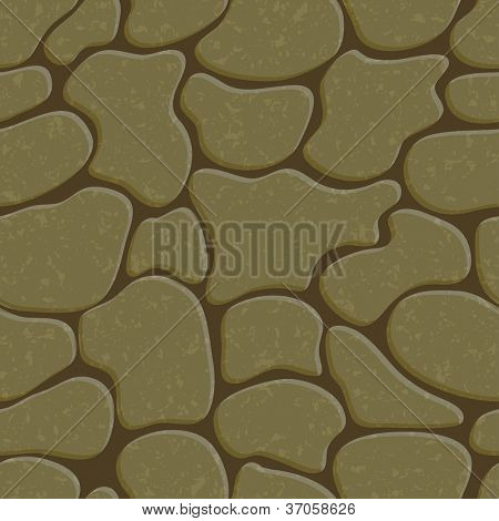 Stone background. Seamless texture. Vector.