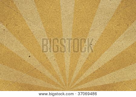 colorful sunbeams grunge background. A vintage poster.