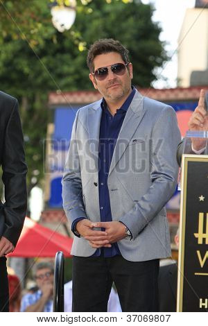 LOS ANGELES - SEP 17: Jay DeMarcus at a ceremony where the band Rascal Flatts receive a star on the Hollywood Walk of Fame on September 17, 2012 in Los Angeles, California
