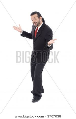 Businessman Greetings