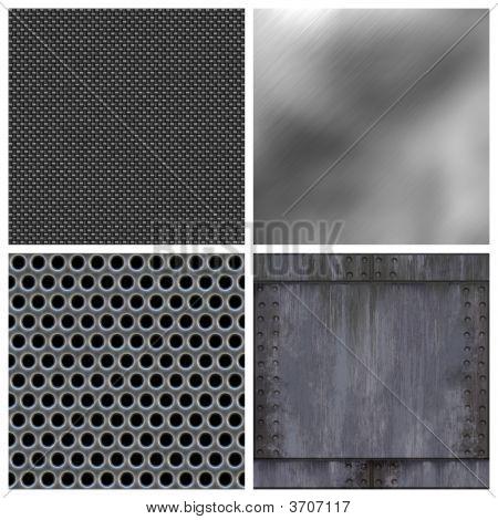 Colección moderna de metales